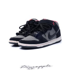 "Nike SB Dunk Mid ""Black/Medium Grey"""