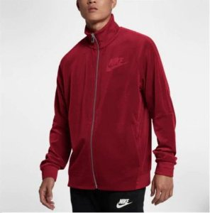 "NIKE - Jaqueta Velour Track ""Red"""