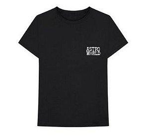 """Travis Scott - Camiseta Astroworld Promo """"Black"""""""