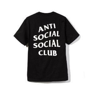 "ANTI SOCIAL SOCIAL CLUB - Camiseta Logo 2 ""Black"""