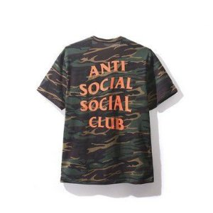 "ANTI SOCIAL SOCIAL CLUB - Camiseta Ghost Camo ""Green"""