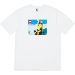 "Supreme x The North Face - Camiseta Photo ""White"""