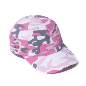 "ANTI SOCIAL SOCIAL CLUB - Boné 50 Degrees ""Pink"""