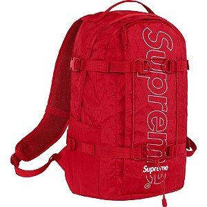 """SUPREME - Mochila FW18 """"Red"""""""
