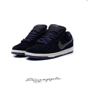 "Nike SB Dunk Low ""Black/Midnight Fog"""