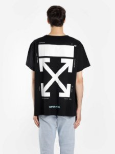 "OFF-WHITE - Camiseta Caravaggio Narciso ""Black"""