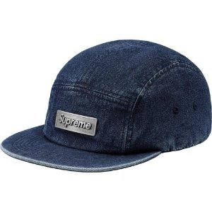 "SUPREME - Boné Metal Plate Camp ""Denim"""