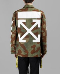 "OFF-WHITE - Jaqueta Field ""Camo"""