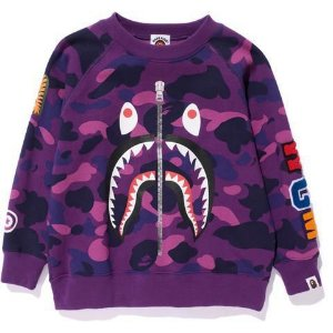 "BAPE - Moletom Shark ""Purple"""