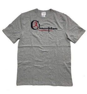 "CHAMPION - Camiseta Elevated Heritage ""Grey"""