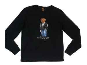 "Polo Ralph Lauren - Camiseta Polo Bear Smoking ""Black"""