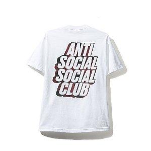 """ANTI SOCIAL SOCIAL CLUB - Camiseta Blocked Red Plaid """"White"""""""