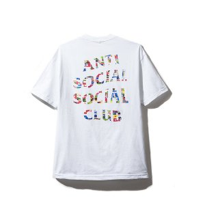 "ANTI SOCIAL SOCIAL CLUB - Camiseta Flag ""White"""