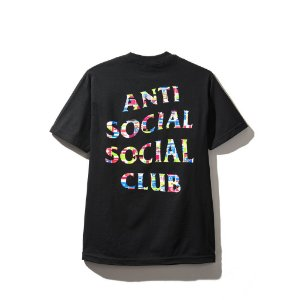 "ANTI SOCIAL SOCIAL CLUB - Camiseta Flag ""Black"""