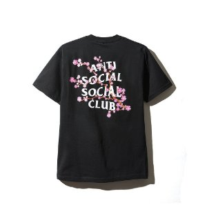 "ANTI SOCIAL SOCIAL CLUB - Camiseta Cherry Blossum ""Black"""