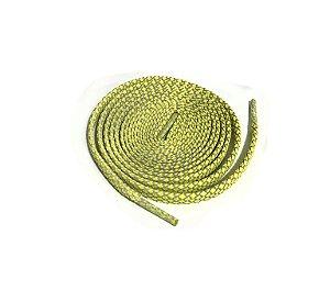 Cadarço Flat Refletivo - Amarelo - 125 cm