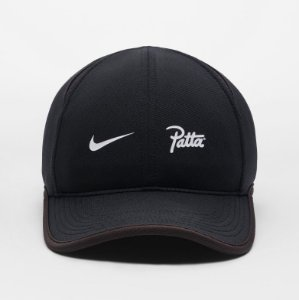 "Nike x Patta - Boné AeroBill Featherlight ""Black"""