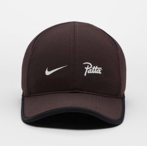"Nike x Patta - Boné AeroBill Featherlight ""Brown"""