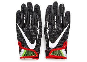 """ENCOMENDA - Nike x Heron Preston - Luvas De Futebol Americano Superbad 4.5 """"Black/White"""""""