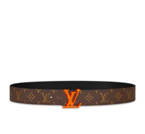 "LOUIS VUITTON - Cinto LV Initiales Monogram 40MM ""Brown/Beige"""