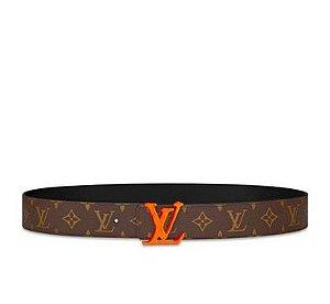 ENCOMENDA - Louis Vuitton x Virgil Abloh's - Cinto LV Initiales Monogram 40MM
