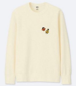 UNIQLO x KAWS x Sesame Street - Moletom Heads (Bert/Ernie)