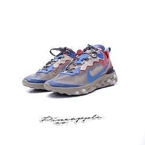 "Nike React Element 87 x Undercover ""Light Beige Chalk"" -USADO-"