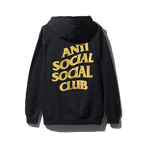 """ANTI SOCIAL SOCIAL CLUB - Moletom Black and Yellow """"Black"""""""