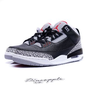 "Nike Air Jordan 3 Retro ""Black Cement"" (2018)"