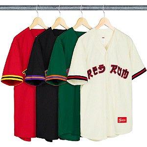 ENCOMENDA - SUPREME - Jersey Red Rum Baseball