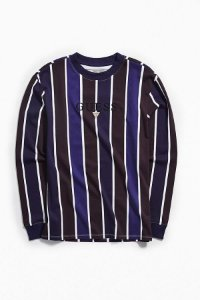 "GUESS - Camiseta Hudson Stripe ""Purple/Black/White"""