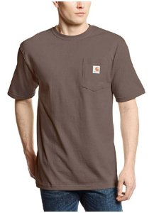 "CARHARTT- Camiseta Pocket ""Dark Brown"""