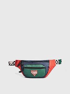 "Guess x J.Balvin -  Pochete Block Logo ""Red/Green"""