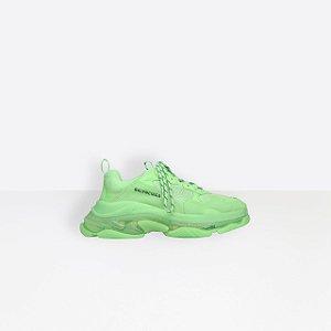 "ENCOMENDA - Balenciaga Triple S Clear Sole ""Neon Green"""