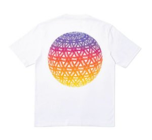 "PALACE - Camiseta Globular ""White"""