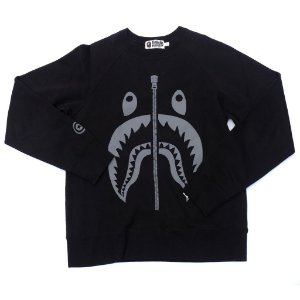 "BAPE - Moletom Shark ""Black"""