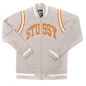 "STUSSY - Jaqueta Varsity ""Bege"""