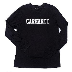 "CARHARTT- Camiseta Carhartt Logo ""Black"""