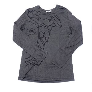 "VERSACE - Camiseta Medusa ""Black/Grey"""