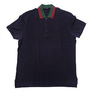 "GUCCI - Camiseta Polo ""Navy"""