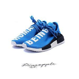 "adidas NMD Human Race x Pharrell ""Blue"" -NOVO-"