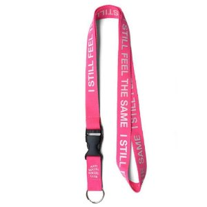 "ANTI SOCIAL SOCIAL CLUB - Lanyard Choke Yourself ""Pink"""