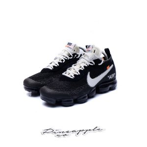 "Nike Air VaporMax x OFF-WHITE ""Black/White"" -NOVO-"
