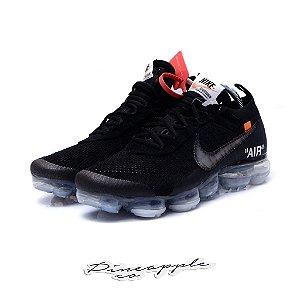 "Nike Air VaporMax x OFF-WHITE ""Black"" -NOVO- (2018)"