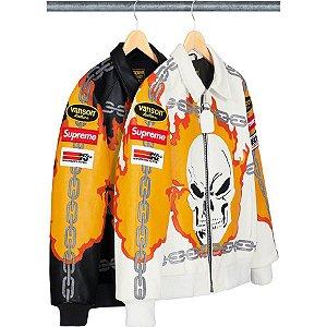 ENCOMENDA - Supreme x Vanson Leathers - Jaqueta Ghost Rider