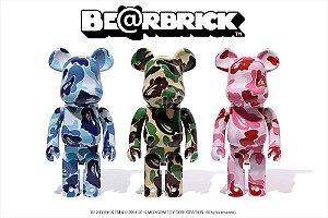 ENCOMENDA - Bape x Be@rbrick - 1000% ABC Camo
