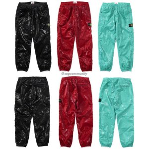 ENCOMENDA - Supreme x Stone Island - Calça New Silk Light