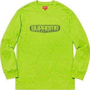 """SUPREME - Camiseta Tech """"Lime"""""""
