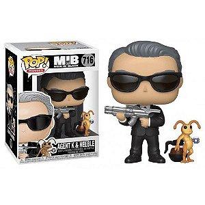 FUNKO POP - Boneco Agent K & Neeble #716