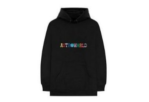 "Travis Scott - Moletom Astroworld ""Black"""